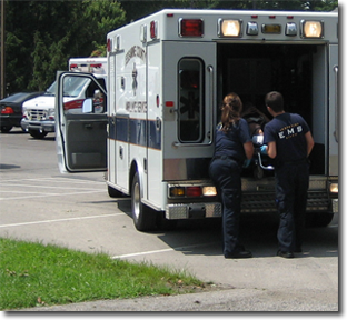 EMS with Patient
